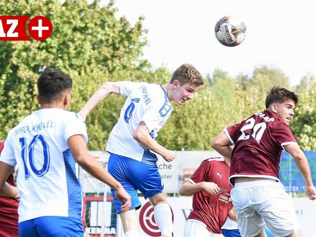Jugendfußball: TSG Sprockhövel kann nur einmal gegen Gievenbeck jubeln