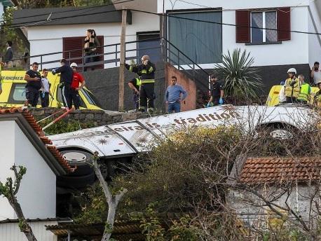 28 Tote bei Busunglück auf Madeira