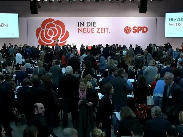 Video: SPD-Parteitag - Mit alter Rose in die neue Zeit