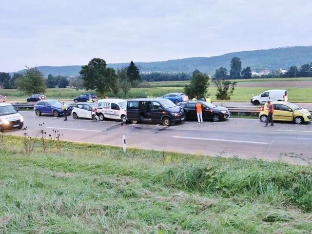 Schwerer Unfall auf der B29: Polizei sucht mutmaßlichen Verursacher