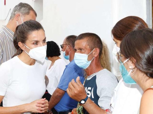 Letizia & Felipe: Rührende Unterstützung nach dem Vulkanausbruch