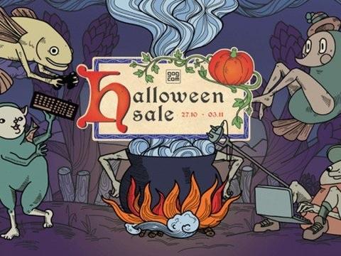 GOG: Großer Halloween Sale 2021 live, mit kostenlosem Horror-Abenteuer