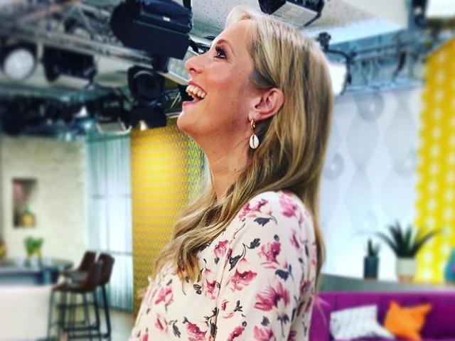 Live im TV: Angela Finger-Erben verrät Babygeschlecht