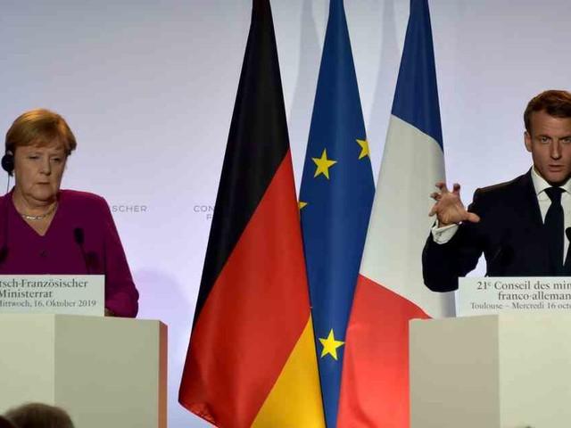 Deutsch-Französischer Ministerrat: Merkel und Macron üben den Schulterschluss