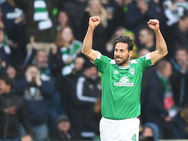 Claudio Pizarro bleibt in Bremen -Vertragsverlängerung bis 2020