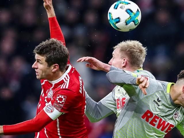 Bundesliga - 1:0 - FC Bayern - 1. FC Köln im Live-Ticker: Lewandowski trifft gegen tapferes Schlusslicht