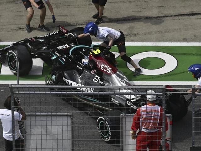 Schrecksekunde beim zweiten Formel-1-Training in Spielberg