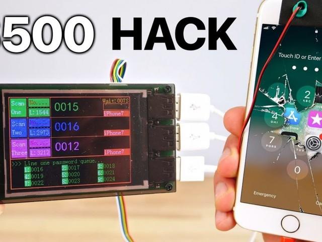 iPhone 7 Passcode knacken für US$500 – kann aber etwas dauern