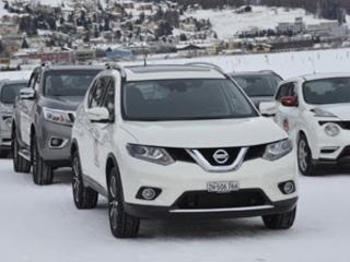 Nissan Winterfahrten Samedan