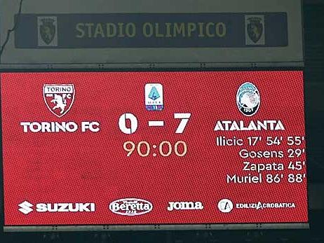 Serie A: 7:0! Gosens und Co. demütigen Torino