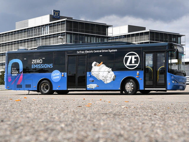 ZF macht den Busverkehr fit für die Zukunft
