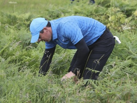 Major in Nordirland - British Open: Debakel für Golfstars McIlroy und Woods