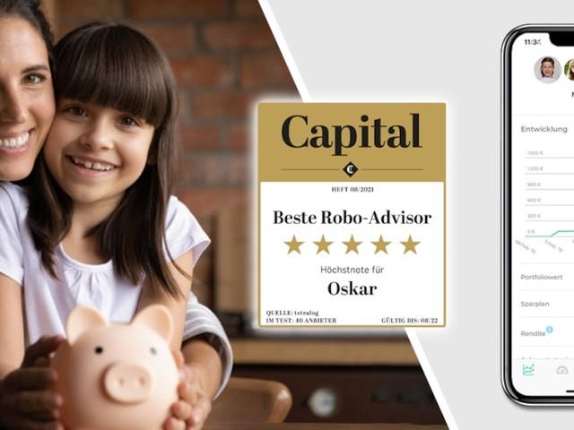 FOCUS Online Deal mit Oskar - Investieren Sie in die Zukunft Ihrer Kinder: Oskar ETF-Sparplan mit exklusivem 25 Euro Startbonus