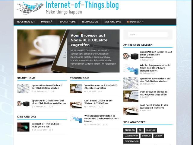Internet-of-Things.blog - aktuelle News, interessante Fakten, nützliche Anleitungen