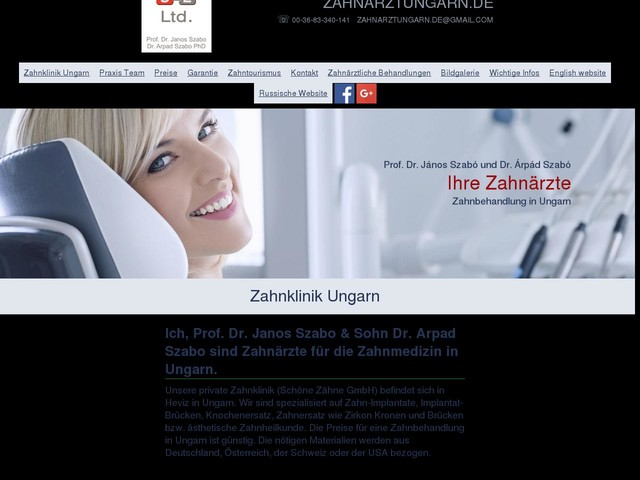 Zahnarzt in Hévíz, Ungarn - Zahnklinik Ungarn