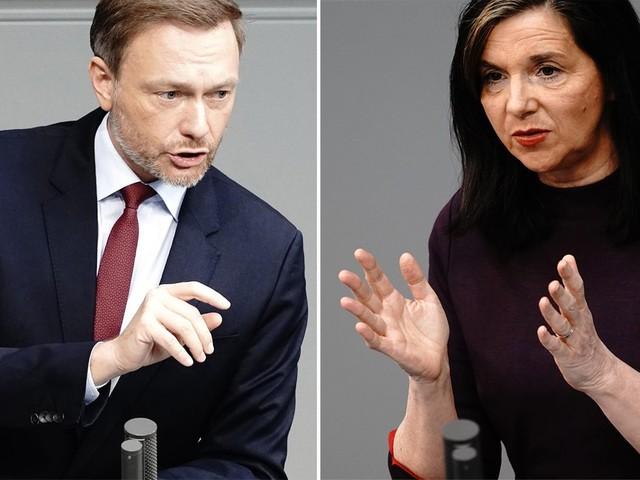 """Debatte im Bundestag: """"Nicht genug"""" bis """"hochproblematisch"""" – Opposition feuert gegen Corona-Politik der Bundesregierung"""