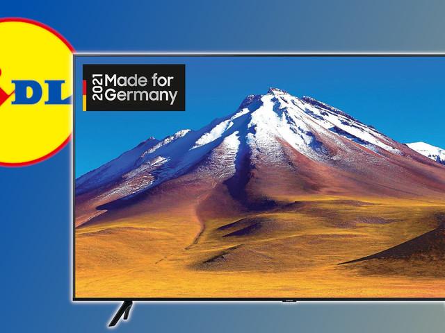 65 Zoll Marken-TV bei Lidl: So gut ist der Samsung-Deal