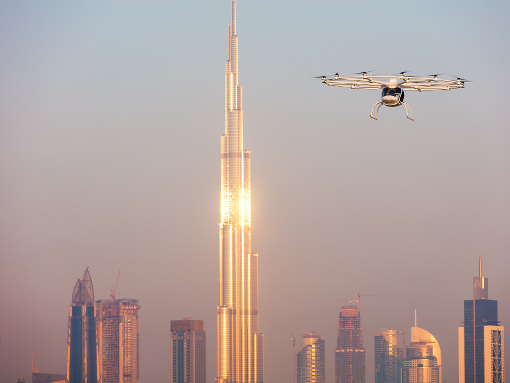 Volocopter schließt Jungfernflug ab