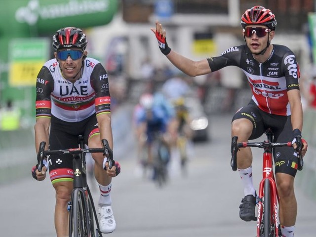 Tour de Suisse: Andreas Kron siegt, Hermann Pernsteiner auf Platz 3