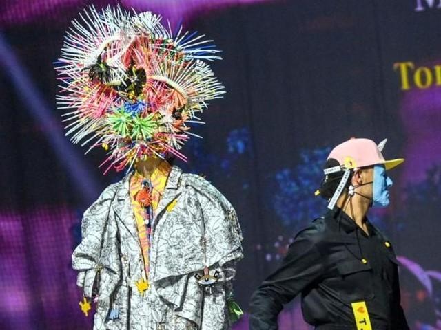 Wildes mit Kabelbindern: Berliner Modewoche online eröffnet