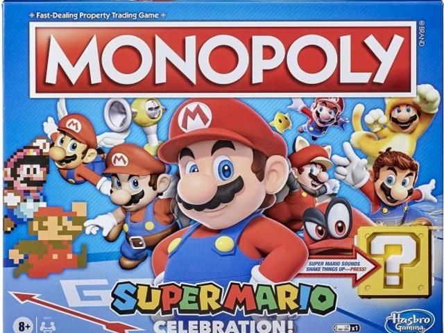Nintendo: Mario-Monopoly und -Jenga zum Jubiläum