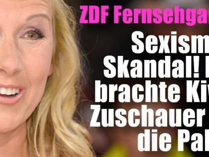 """""""ZDF Fernsehgarten"""" vom 19.09.2021: """"Sexismus-Geheule!"""" DAS brachte Kiwis Zuschauer auf die Palme"""