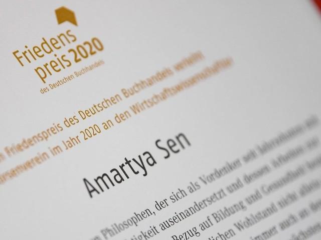 Friedenspreis des Buchhandels für Amartya Sen