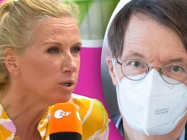 ZDF-Moderatorin Andrea Kiewel in Rage: Verbal-Attacke auf Corona-Experten Lauterbach