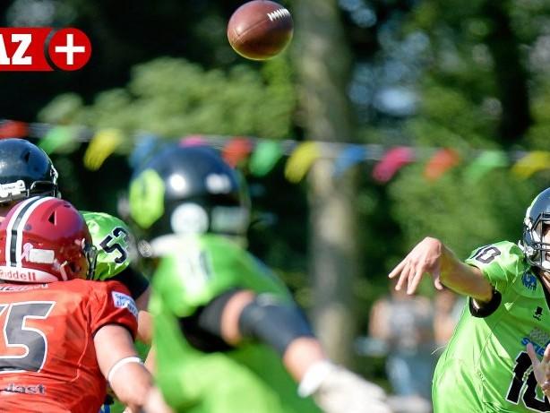 American Football - Landesliga: Herne Black Barons wollen die Tabellenspitze zurückerobern