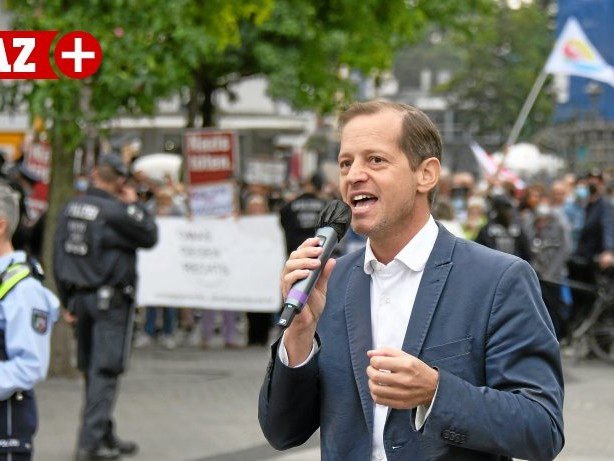 Bundestagswahlkampf 2021: Oberhausen: Viel Rabatz um gering besuchte AfD-Wahltour