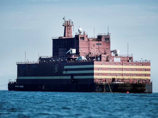 Wieder was gelernt - der Podcast: Schwimmende Atommeiler als Exportschlager