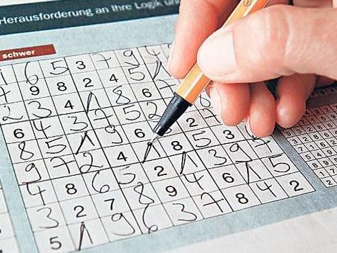 Sudoku stoppt den geistigen Verfall nicht