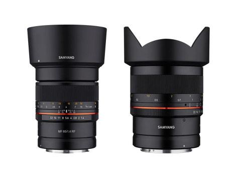 Neue Objektive für Canon EOS R: Samyang setzt auf Lichtstärke statt Ausstattung