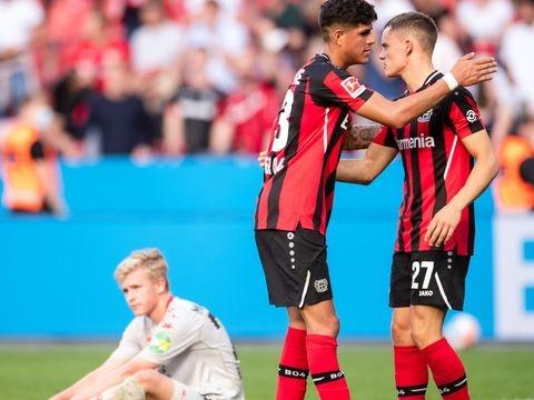 Bayer Leverkusen: Rekord eines 18-Jährigen - Wirtz trägt das Bayer-Kreuz