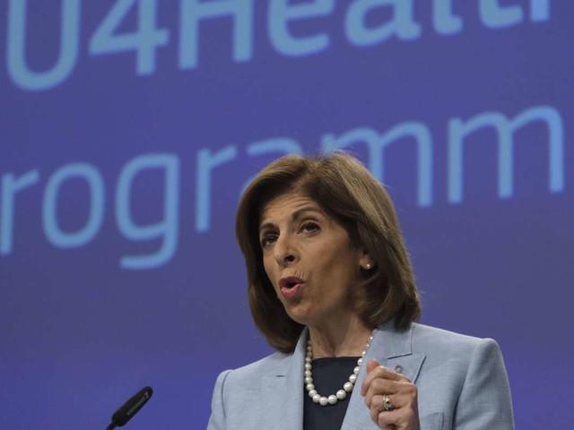 Corona-Pandemie: EU-Gesundheitskommissarin rechnet schon 2020 mit Impstoff
