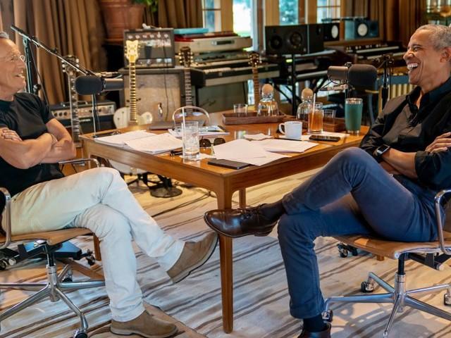 Spotify baut aus: Obama und Springsteen starten Podcast