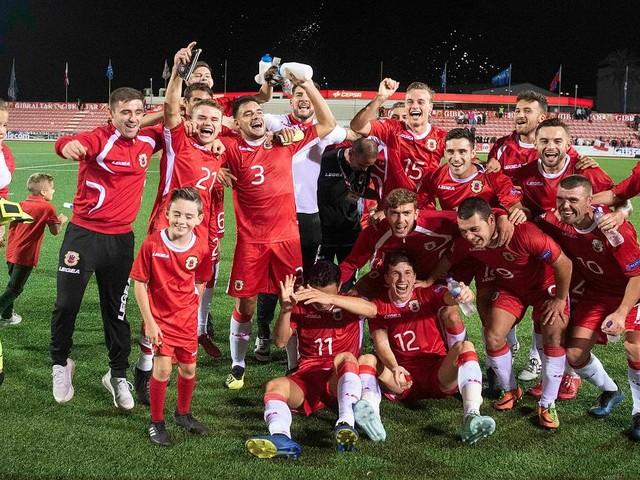 Gibraltar in Ekstase - Fußball-Zwerg gewinnt plötzlich öfter als Deutschland