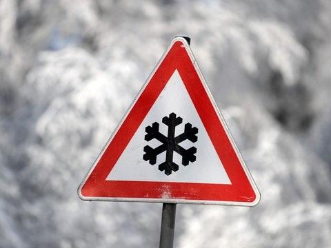 Frostiges Winterwetter in Hessen