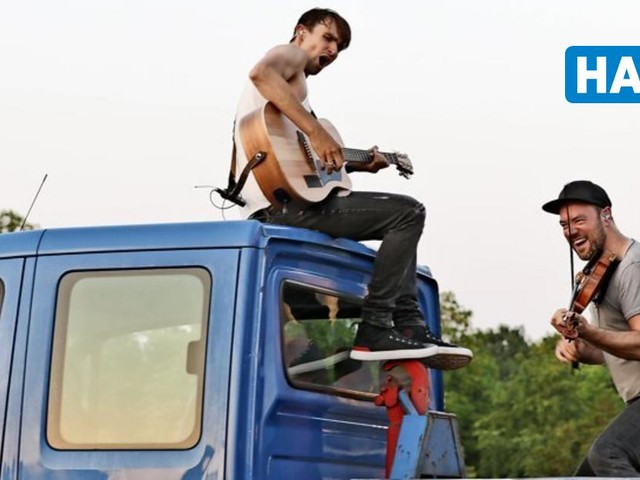 Versengold beim Autokonzert: Mittelaltermusik im Pick-Up-Truck