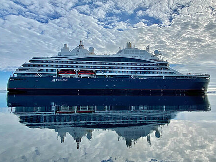 Ponant flottet Polarexpeditionsschiff ein