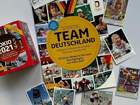 Olympiasieger im Sammelalbum: Druckfrisch aus Italien