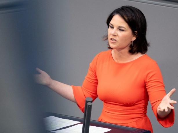 Wahlkampf: Katastrophenschutz: Grünen-Chefin Baerbock will Veränderung
