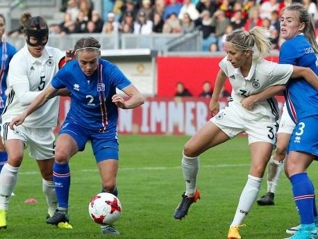 Rückschlag für deutsche Fußballfrauen in WM-Qualifikation
