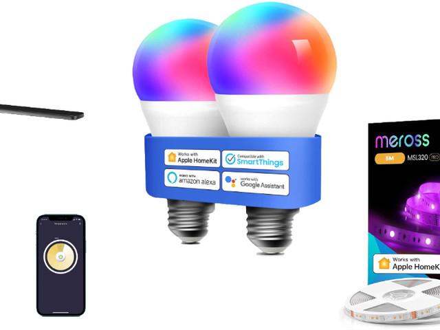 HomeKit: satter Rabatt auf LightStrip, Schreibtischlampe und E27-LEDs