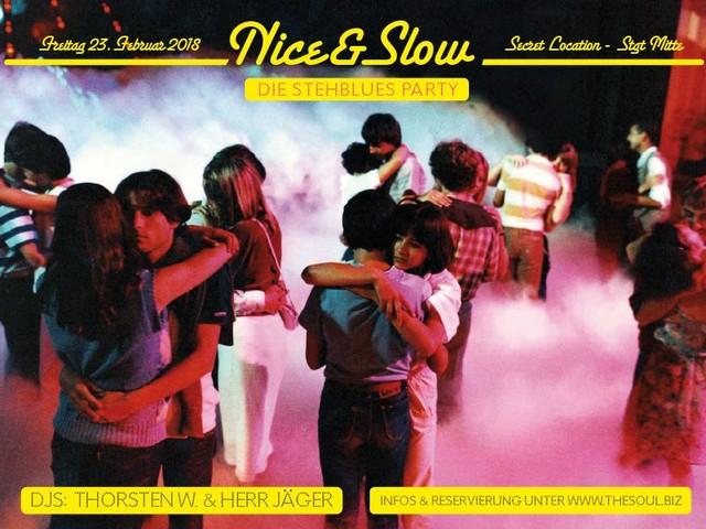 Freitag: Nice & Slow – die Stehbluesparty