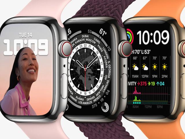 Apple Manager sprechen über das größere Display der Apple Watch 7