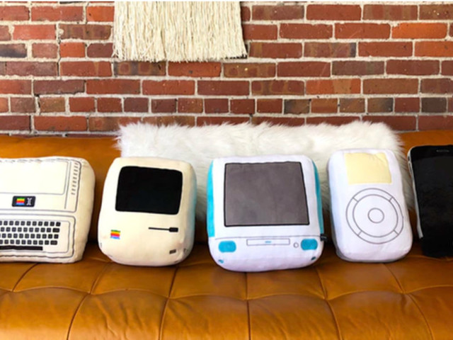 Iconic Pillow Collection: Kuscheln mit dem iPhone