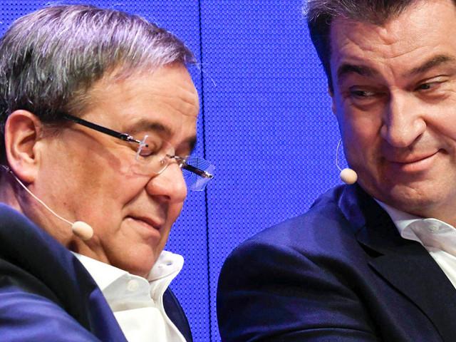 Kanzlerkandidat: Söder will trotz Votum für Laschet noch nicht aufgeben