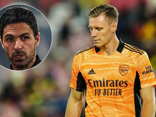 """Leno droht regelmäßiger Arsenal-Bankplatz: Trainer Arteta gibt keine Einsatz-""""Garantie"""""""