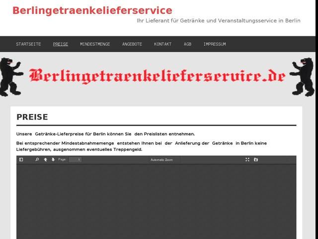 Getränke Lieferservice Berlin - Getränke einfach online bestellen ...
